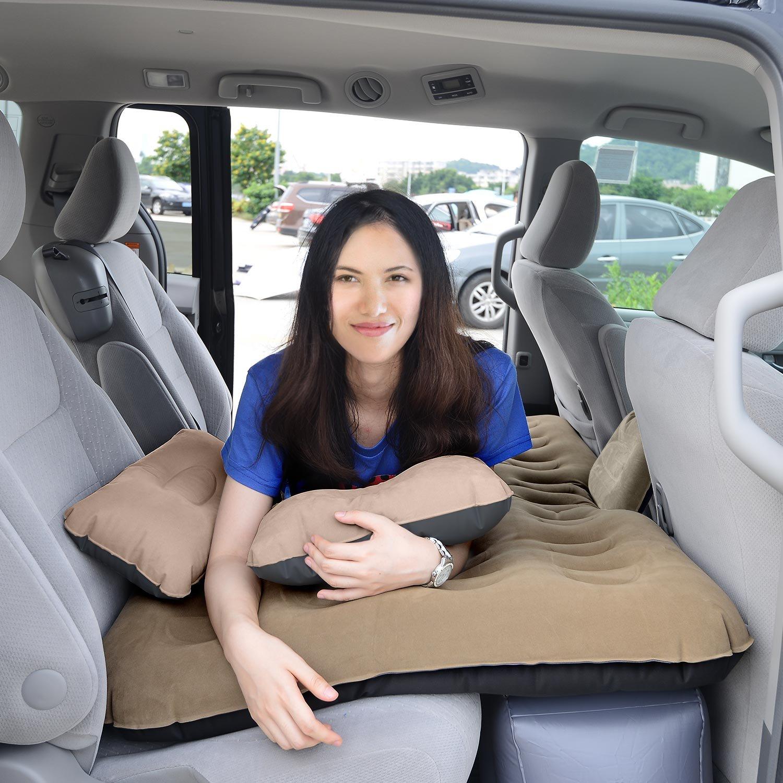 Amazon.com: HIRALIY - Colchón inflable para coche, portátil ...