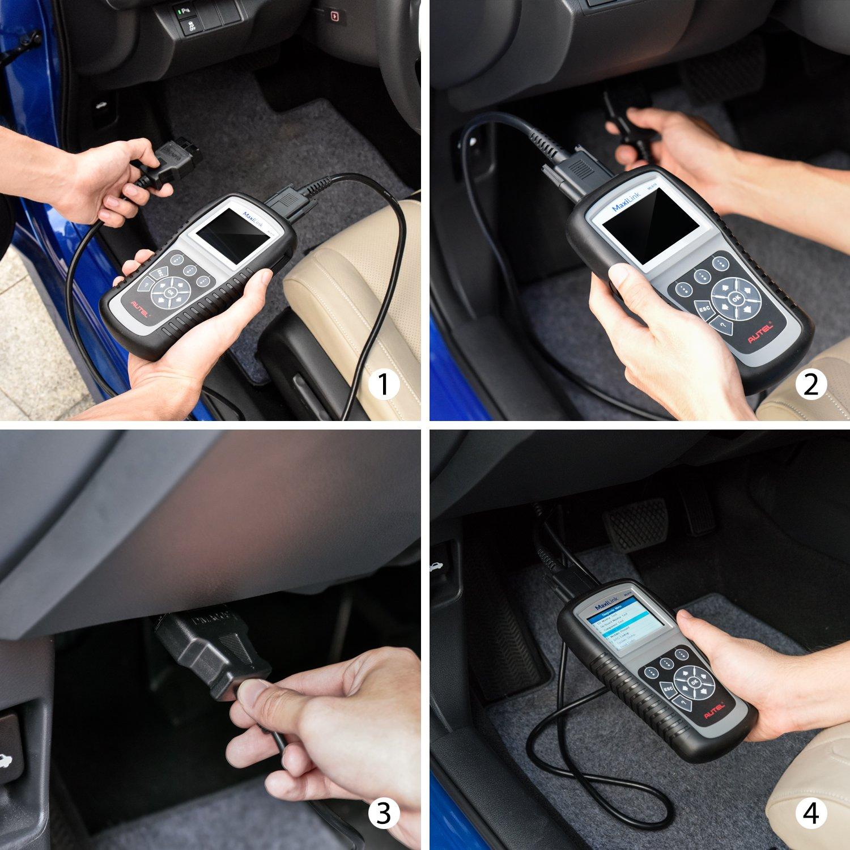 OBD2 Scanner Digital Code Reader Autel Maxilink ML619 Diagnostic Code Scanner ABS SRS Auto Code Reader Car Diagnostic Scan Tool by MaxiLink (Image #8)