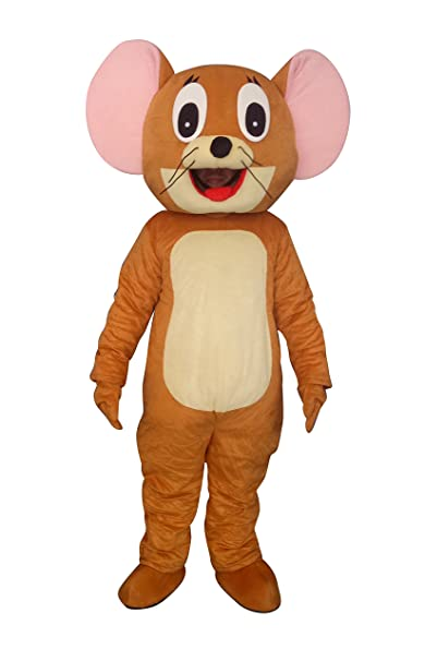Amazon.com: sinoocean Jerry mouse adulto disfraz Cosplay ...