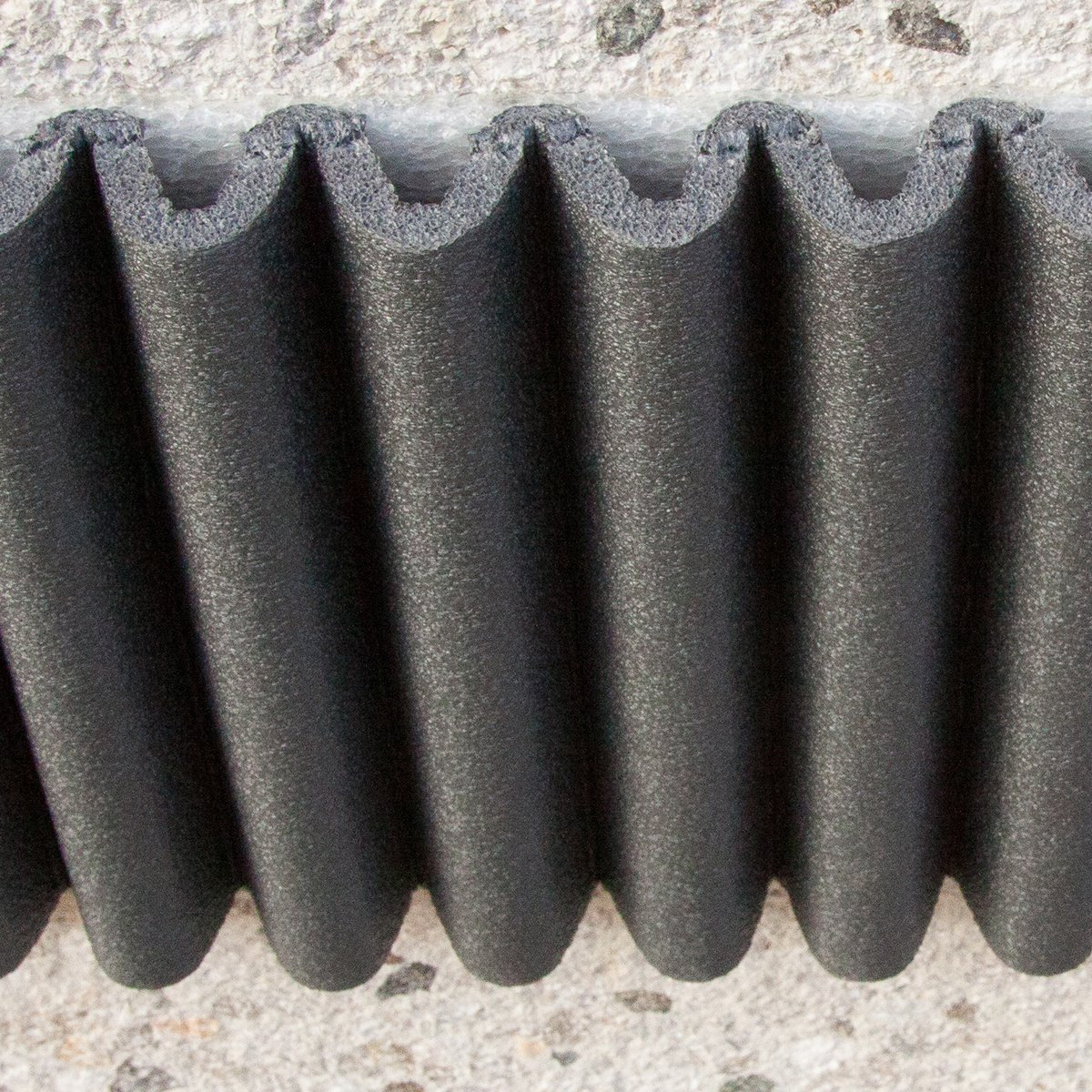 Mondaplen wall bumpers self adhesive protective foam strips car mondaplen wall bumpers self adhesive protective foam strips car door protectors for garage walls each set consists of 2 strips 135 m x 17 cm rubansaba