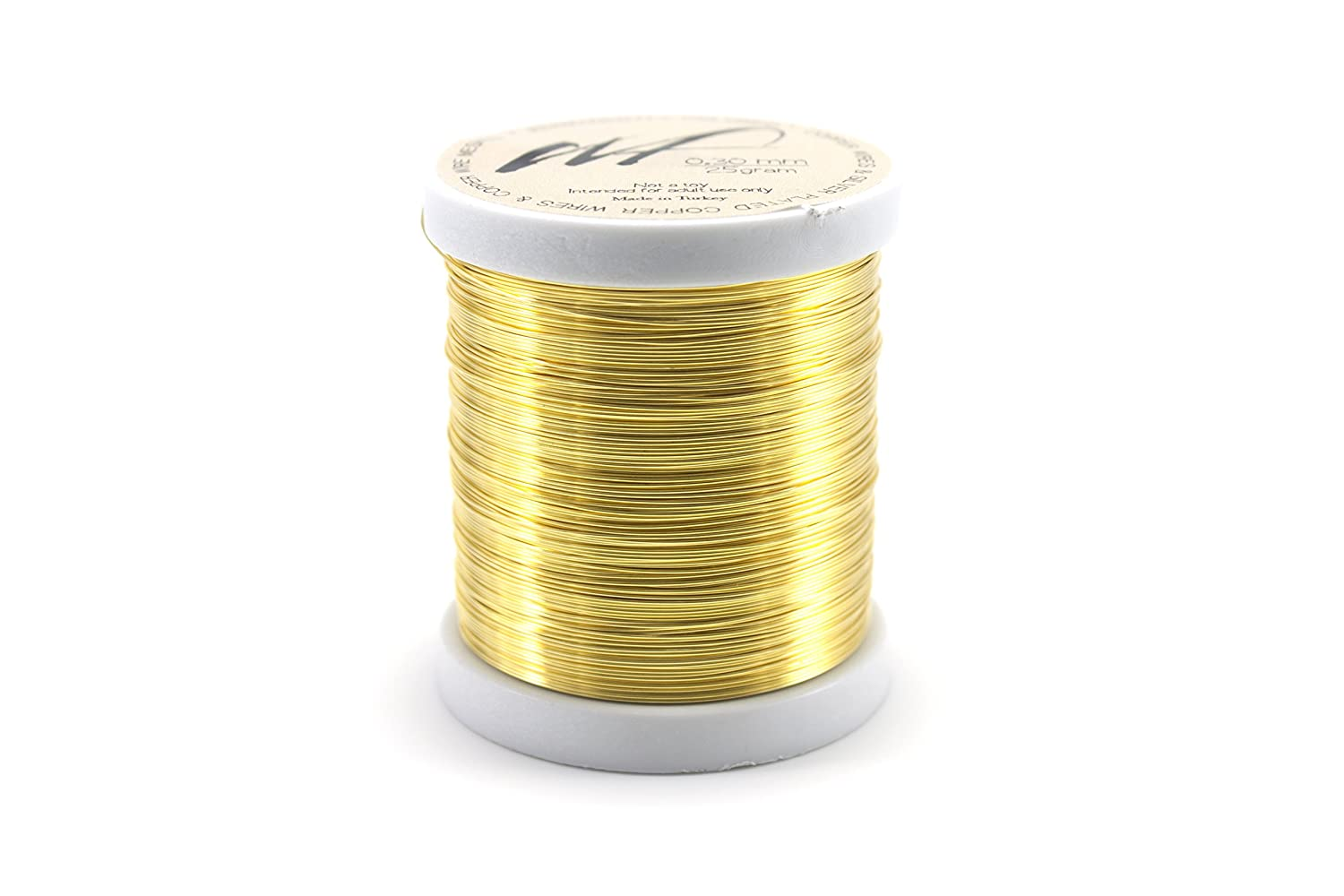 WF Color Set 1, 0.80 mm 20 Gauge Tarnish Resistant Silver-Plated Copper and Copper Wire Set of 4 spools for Wrapping Jewelry Making Beading Floral Colored DIY Artistic Craft Coil Wire kit