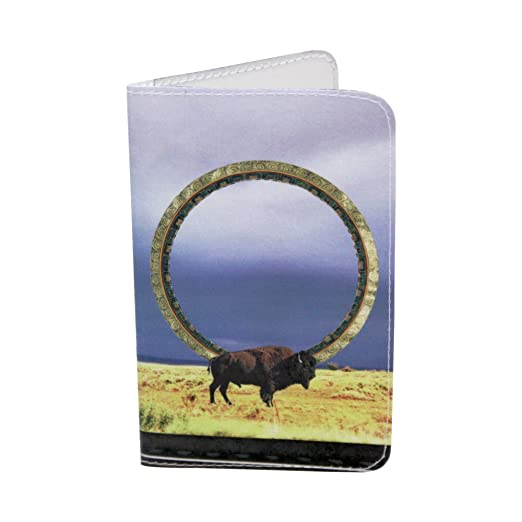 Native American Buffalo Magic Business Credit Id Card Holder At