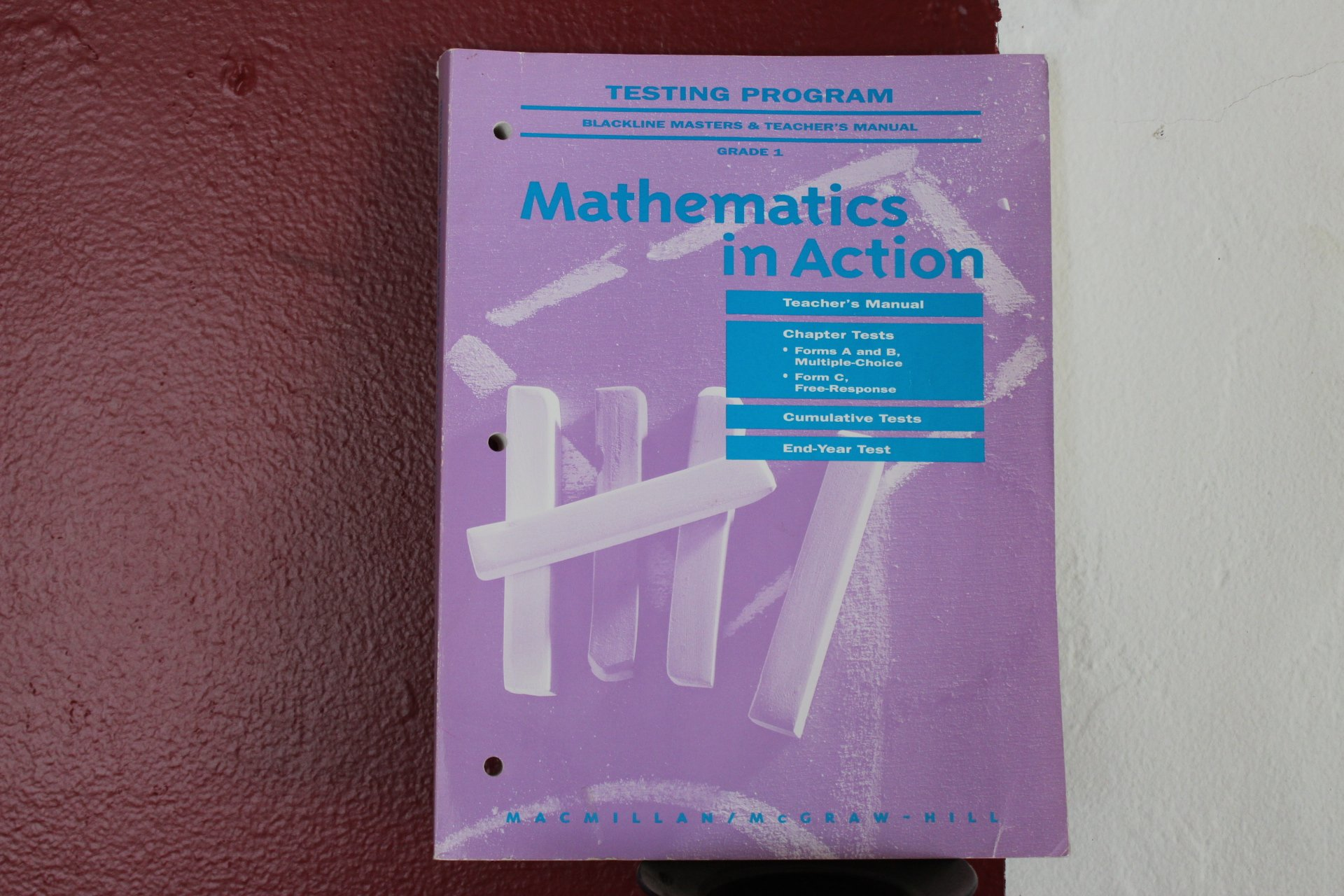 Grade 1 Testing Program: Blackline Masters & Teacher's Manual