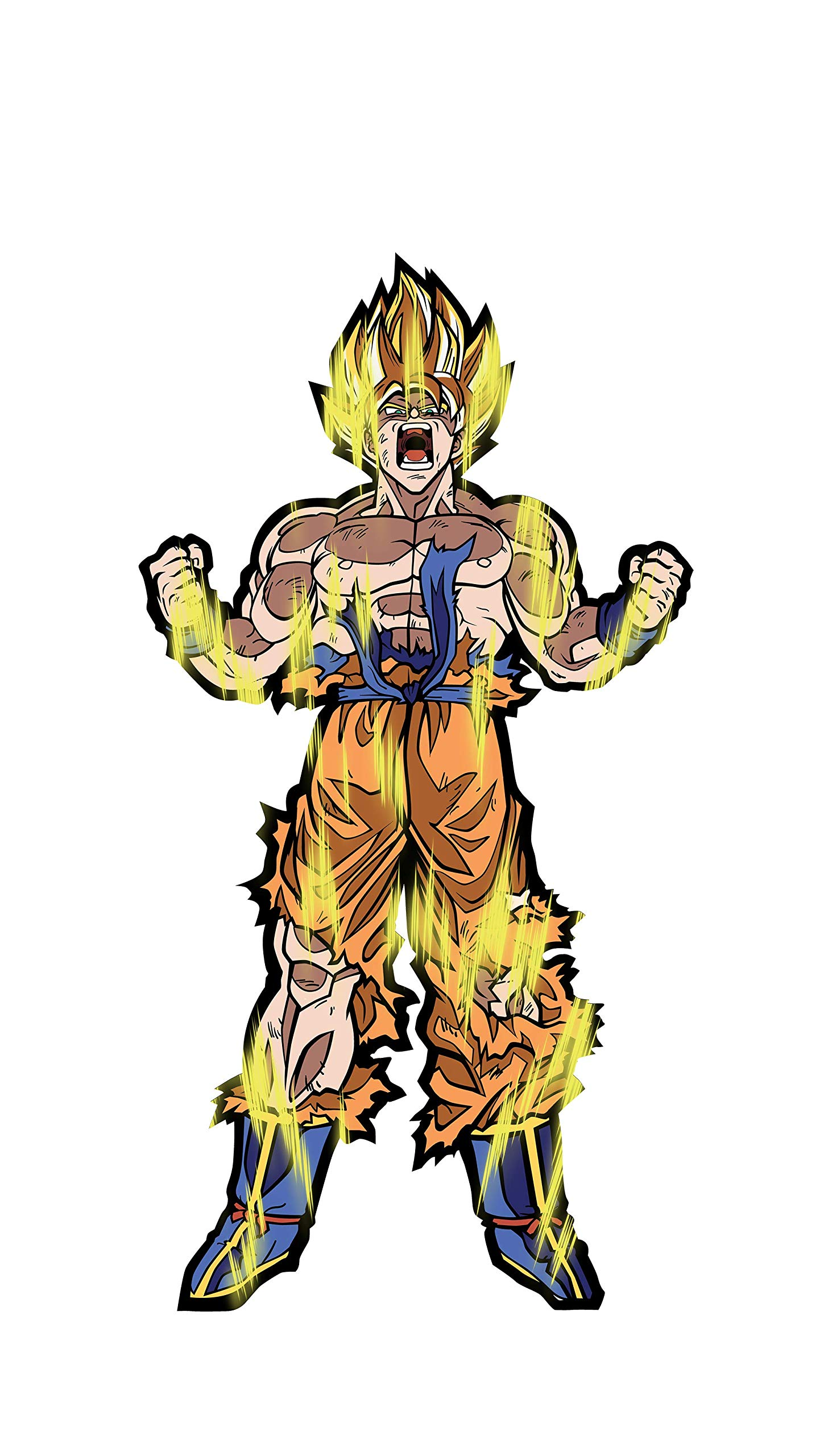 FiGPiN XL Dragon Ball Z: Super Saiyan Goku - Collectible Pin by FiGPiN (Image #3)