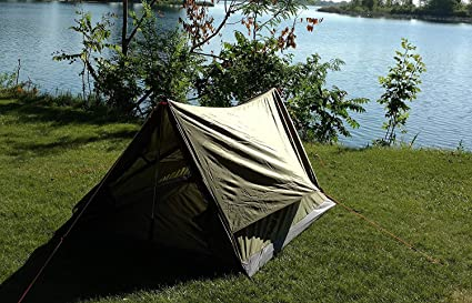 River Country Products Trekker Tent 2 2, Two Person Trekking Pole  Backpacking Tent