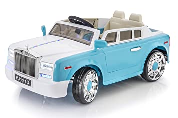 luxury super car rolls royce phantom style 12v remote controled ride on electric toy car for