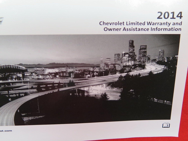 Amazon.com: 2014 Chevrolet Malibu Owners Manual: Chevrolet: Automotive