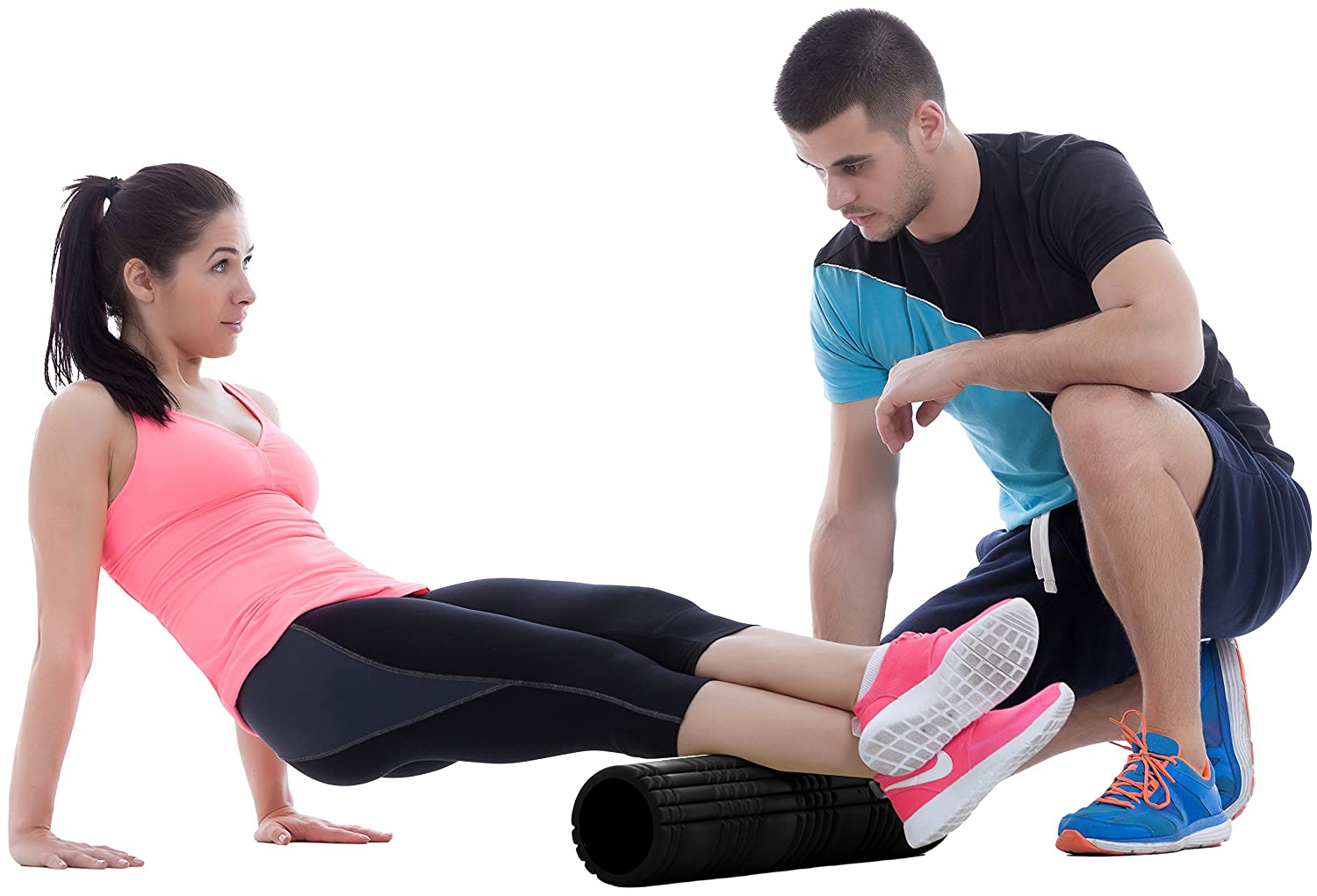 Massage Foam Roller EVA Foam Filled Interior by Utopia Fitness