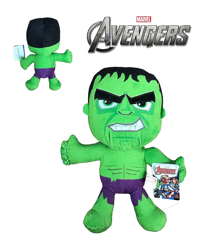 Marvel - Peluche Hulk 30cm Calidad super soft MRVL