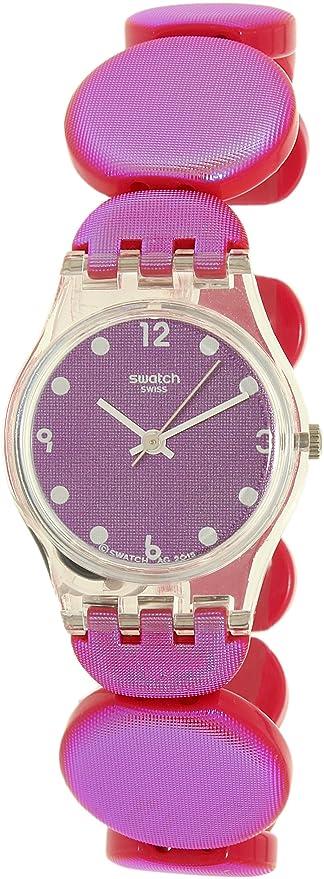 Swatch Lady LK357B - Reloj de cuarzo para niña (plástico), color rosa: Swatch: Amazon.es: Relojes