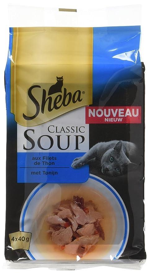 Sheba Set de 12 Sopas de Gato 4 x 40 g 48 Bolsas de frescor
