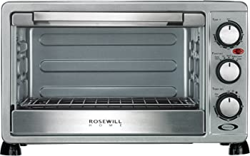 Rosewill 6 Slice Toaster Oven Broiler + 2-Pks. 6-Ft. Power Strip