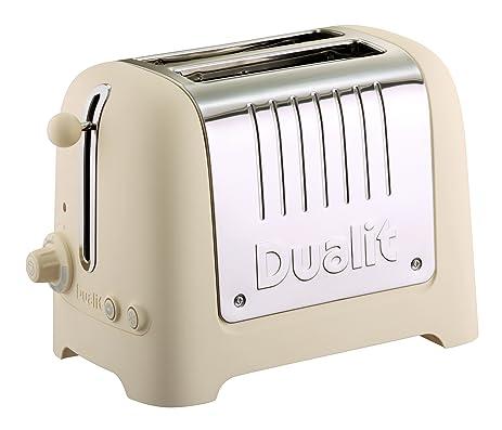 Amazon Dualit Lite Soft Touch 2 Slice Toaster Cream