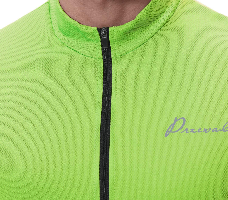Sykooria Mens Cycling Jersey Long Sleeve Bicycle Basic Jacket Full Zipper Bike Biking Shirts with 3 Pockets