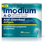 Imodium A-D Softgels, 24 Count