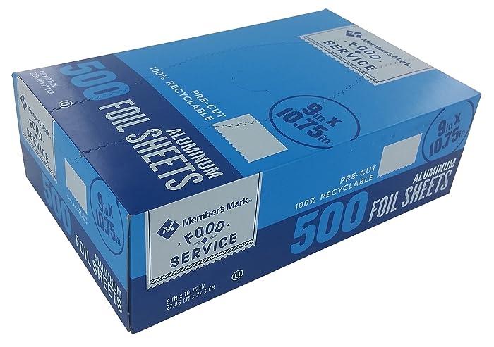Top 10 Foil Sheets Food Service 500Ct
