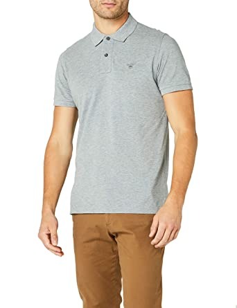 aa98d61a1a GANT Men's Classic Short-Sleeve Piqué Polo at Amazon Men's Clothing store: