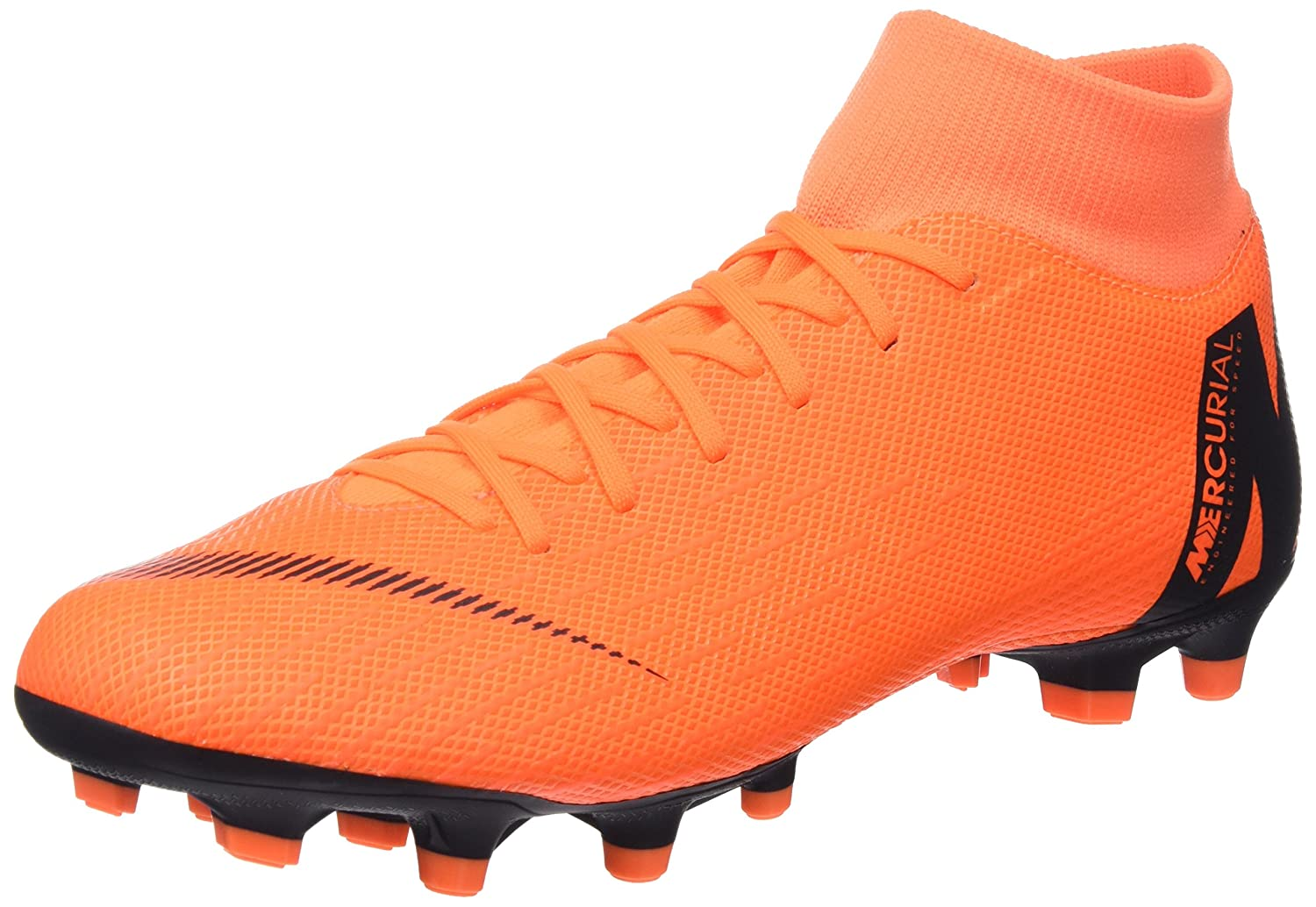 MultiCouleure (Total Orange   noir-t 810) Nike Mercurial Superfly VI Academy MG, Chaussures de Football Homme