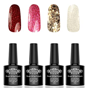 Amazon Com Nail Polish Gel Kit Color Gel Nail Polish