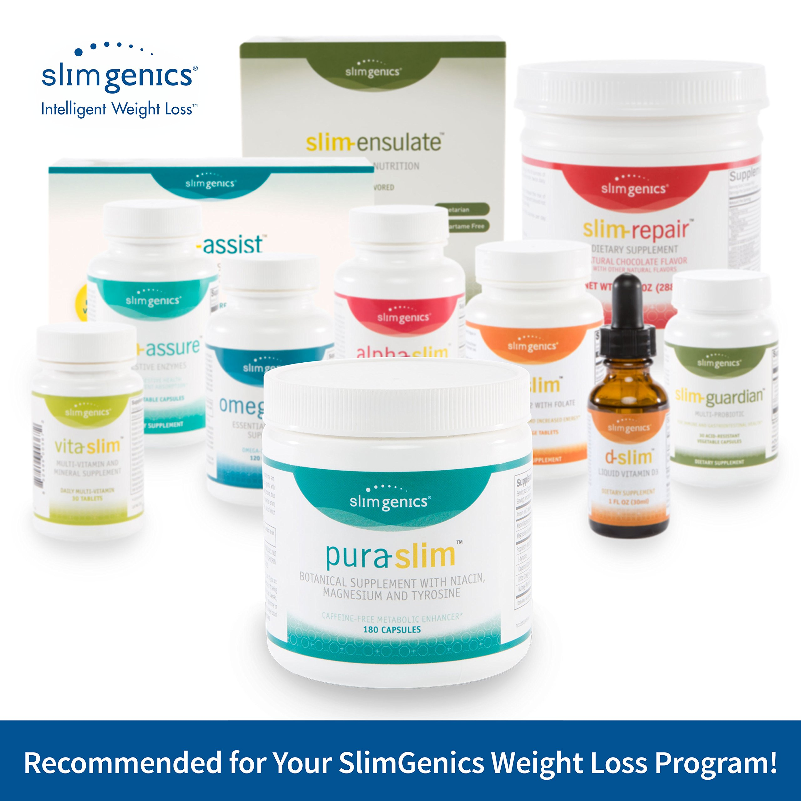SlimGenics Pura-Slim | Metabolizer Herb – Metabolic Booster with Powerful Herbs and Nutrients, Thermogenic Fat Burners for Weight Loss, Fights Fatigue and Increases Energy (180 Count) by SlimGenics (Image #6)