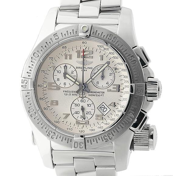 Breitling emergencia cuarzo Mens Reloj a73322 _ (Certificado) de segunda mano: Breitling: Amazon.es: Relojes