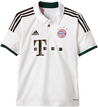 no sale tax details for huge discount adidas Kinder Trainingsshirt FC Bayern München Trikot Away