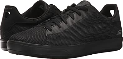 Opcional lobo Capilla  Amazon.com | Skechers Performance Mens Go Vulc 2 Eminent Black/Grey 9 D -  Medium | Shoes