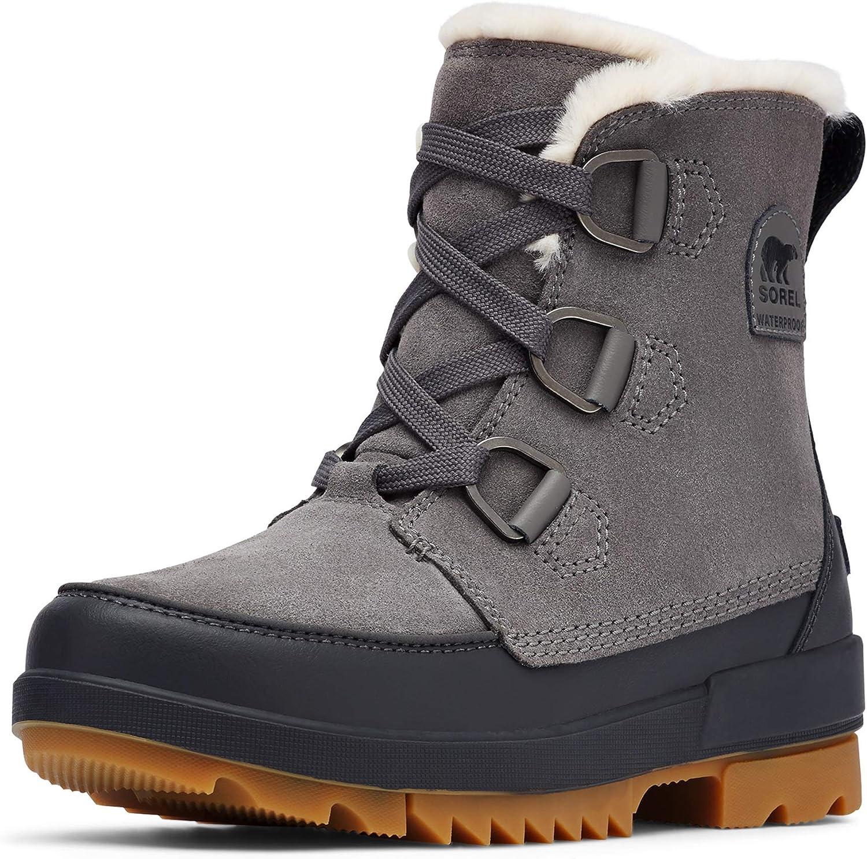 Sorel Women's Tivoli IV Boot - Light Rain and Light Snow - Waterproof - Quarry - Size 6