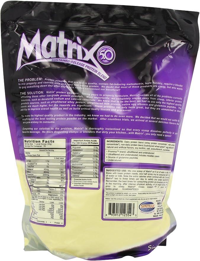 Syntrax Matrix Vanilla 2290g