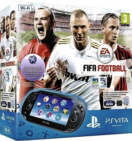 Console Playstation Vita Wifi + Fifa 12 + Carte Mémoire 4 Go ...