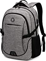 SHRRADOO Durable Waterproof Anti Theft Laptop Backpack Travel Backpacks Bookbag with