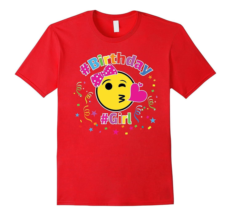 Yellow Emoji Birthday Shirt For Girls, Kids, Gift-TH