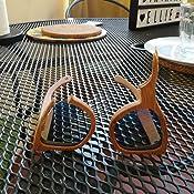 41a8b8132a VOBOOM Men Women Carbonized Bamboo Sunglasses Polarized Wood frame ...
