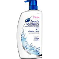 Head & Shoulders Classic Clean 2-in-1 Anti Dandruff Shampoo and Conditioner, 1000 ml