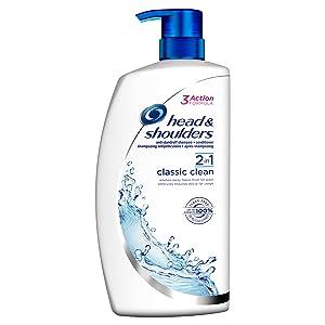 Head & Shoulders Classic Clean Anti-Dandruff 2-in-1 Shampoo, 1000 ml