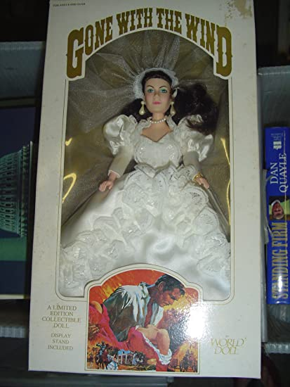 Amazon.com: World Doll - Scarlett O\'hara in Wedding Dress, Gone with ...