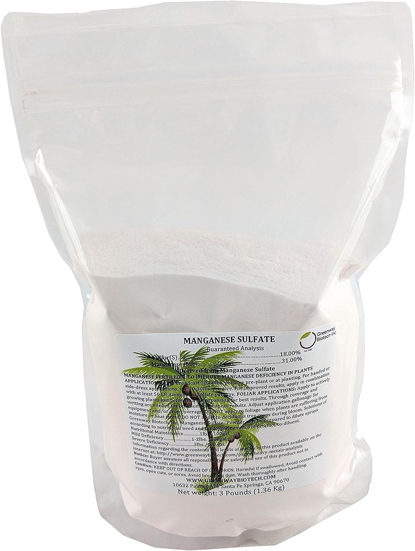Manganese Sulfate Monohydrate Powder Fertilizer 100%