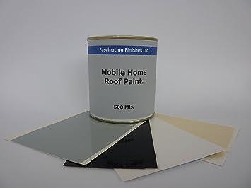 1 X 500ml Repair Leaking Roof Paint, For Mobile Home, Caravan Horse Box Etc
