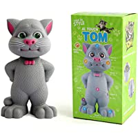 Jiada Talking Tom with AI Touch Sensitive and Recording for Kids