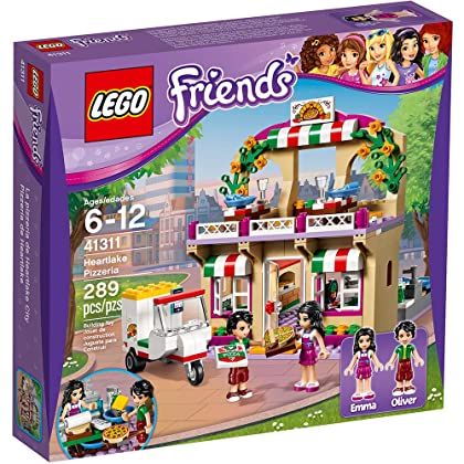 LEGO Friends Heartlake Pizzeria 41311 Toy for 6-Year-Olds