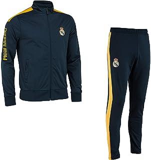 Real Madrid Chándal Training fit Chaqueta + Pantalones Colección Oficial - Hombre: Amazon.es: Deportes y aire libre