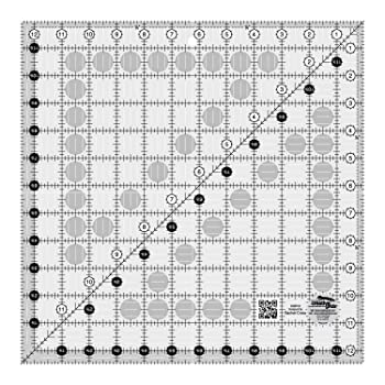 Creative Grids Square Quilting Ruler Template