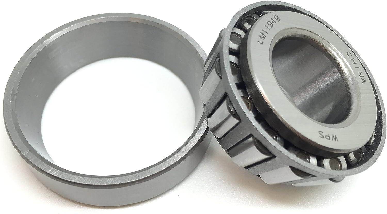 LM11949//LM11910 Trailer//Agricultural Hub Wheel Bearing Set WPS x 1.781 O.D Set of 4 TM LM11949 LM11910 0.75 I.D