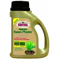 Substral Magisches Rasen-Pflaster - Rasenreparatur - Mischung aus Rasensamen, Premium Keimsubstrat und Dünger
