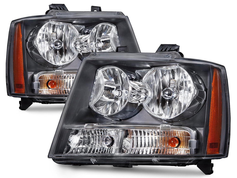 All Chevy 95 chevy headlights : Amazon.com: Chevy Avanlanche/Suburban/Tahoe Headlights Headlamps ...
