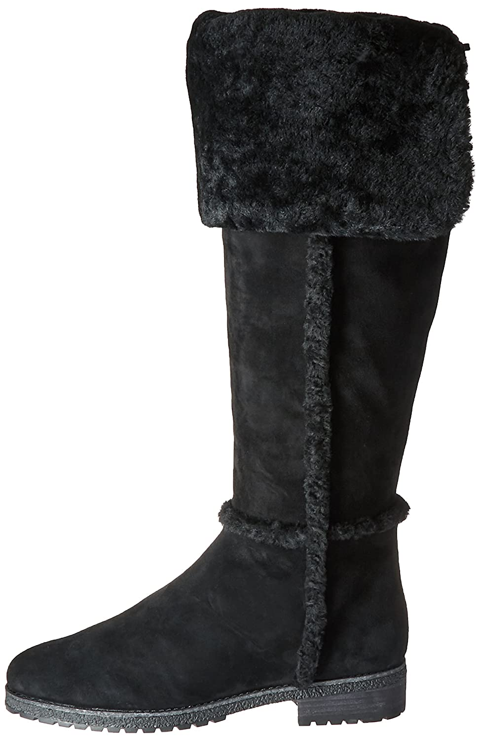 FRYE Women's Tamara Shearling OTK Winter Boot B01BNUX4U8 8.5 B(M) US|Black