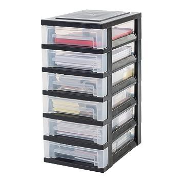 Rollcontainer kunststoff  IRIS, Schubladenschrank / Schubladenbox / Rollwagen ...