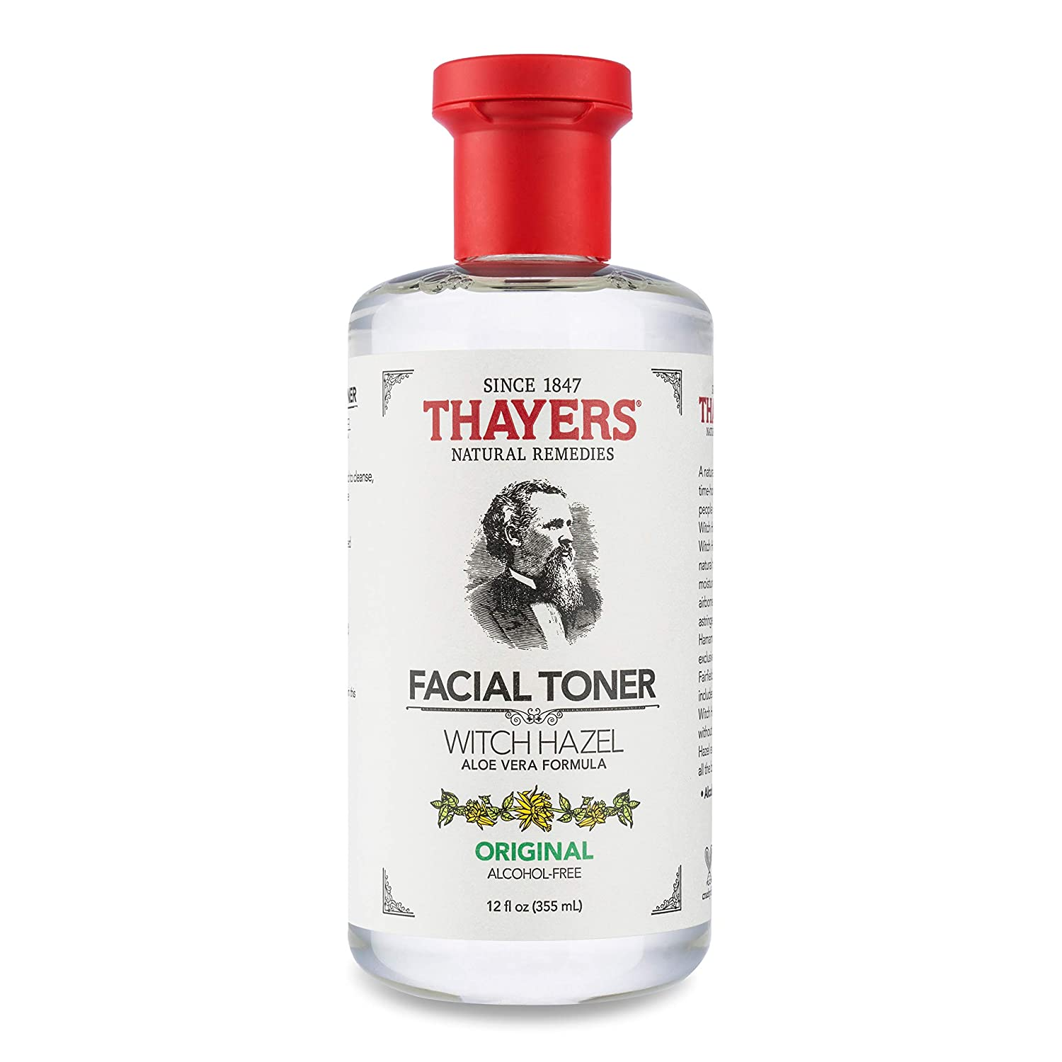Thayers Alcohol-Free Original Witch Hazel Facial Toner with Aloe Vera Formula