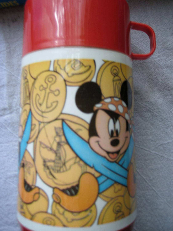 Amazon.com: Mickey Mouse Pirates of Carribean Thermos ...