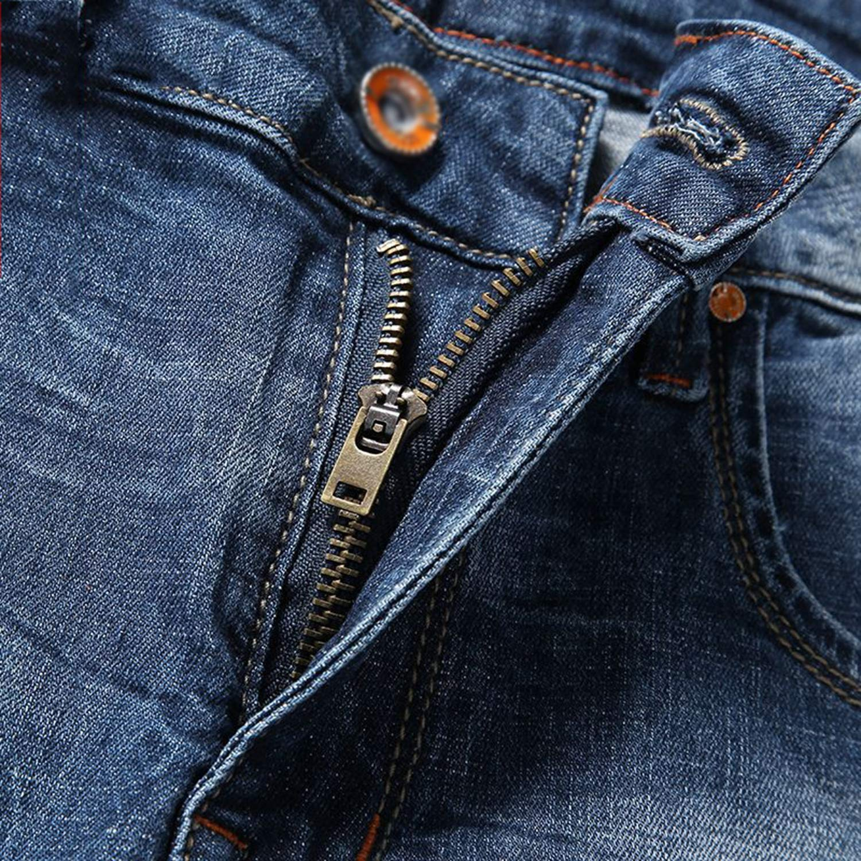 Moange Stretch Jeans Mens Clothing Shorts Summer Blue Pants Denim Skinny Elastic Short Jean Homme Big Size 5XL 6XL